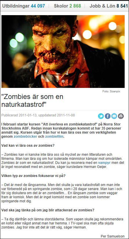 zombiekurs